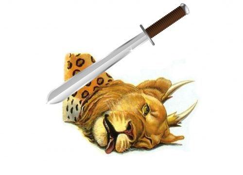 Cette bête a 7 têtes avec des noms blasphématoires et 10 cornes portant des diadèmes. Elle ressemble à la fois à un léopard, un ours et un lion. Son autorité et sa puissance lui viennent du dragon, Satan le diable.