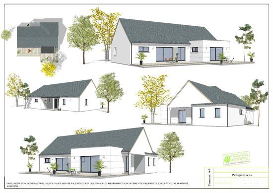 Maisons Kernest, le constructeur pour réaliser et construire votre projet de construction de maison individuelle sur un terrain à Malville (44260)