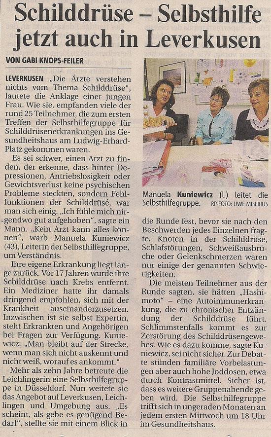 Quelle: Rheinische Post vom 7. Semptember 2012
