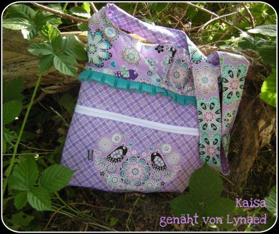 Wendetasche mit optionaler Reißverschlusstasche