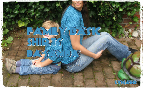 Family Basic Shirts in XS und 98