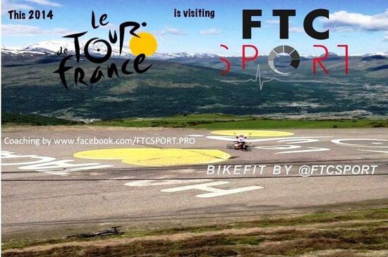 Hautacam : Arrivée de la 18ème étape du Tour de France 2014 - L'Etape du Tour Cyclo