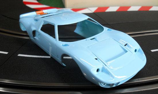 Ford GT40 LM 69 FUJIMI  Auftragsarbeit-Stand 07.05.14