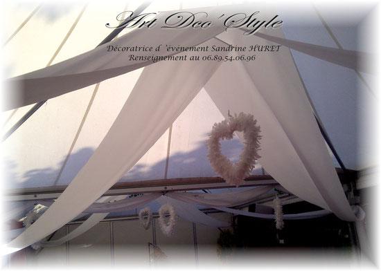 location de tenture pour mariage