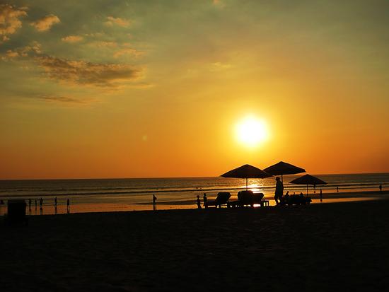 Sonnenuntergang im Süden von Bali