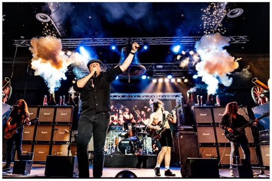 BAROCK AC/DC tribute Berlin Huxleys Neue Welt