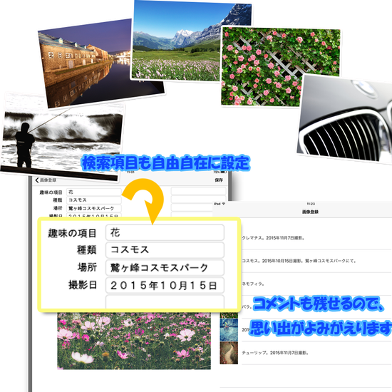 スマートフォンアプリ,写真管理,画像管理,写真,画像,フォトちゃん,画像2