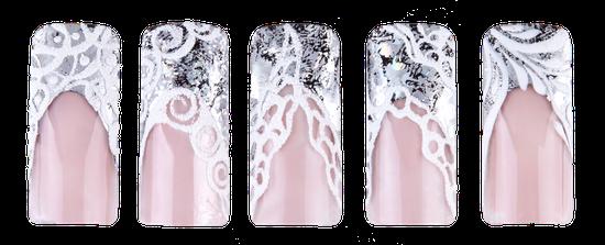 Beispiel: Silberfolien Designs by Julija Batrakova
