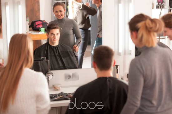 bloos Make-up & Hair Academy open Academy beauty shooting markus Thiel behind the scenes