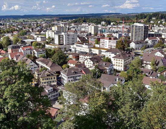 Stadt Uster (Quelle: Google)
