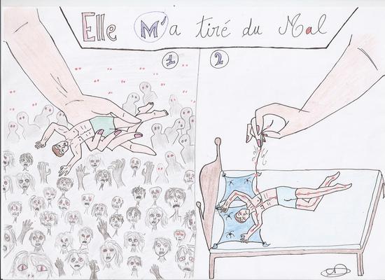 Illustration et coloriage de CarolineD, Scénario de Joellecm