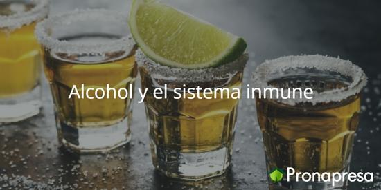 Alcohol y el sistema inmune