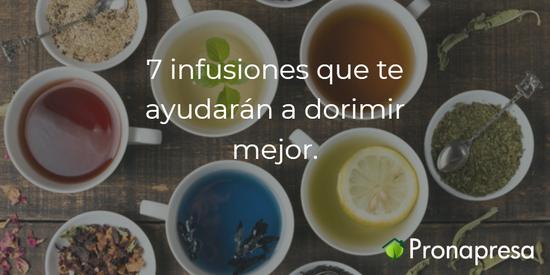 7 infusiones que te ayudarán a dormir mejor