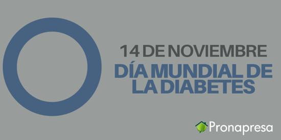 14 de noviembre: Día mundial contra la diabetes