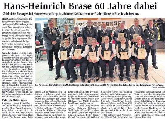 Bericht der Niederelbe-Zeitung vom 07.02.2019