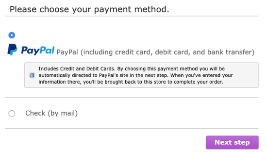Credit Debit Card Payment