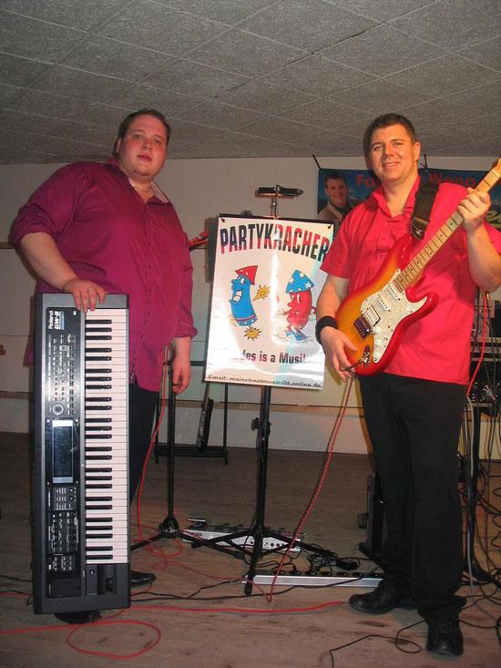 """Die """"Party-Kracher"""" aus Bad Griesbach spielten zum Tanz auf."""