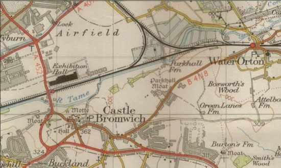 Castle Bromwich Aerodrome 1914  1958  Castle Bromwich History