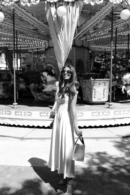 White Dress Paris, Carmen Schubert