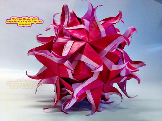 """Origami - Kusudama """"Neptune"""""""