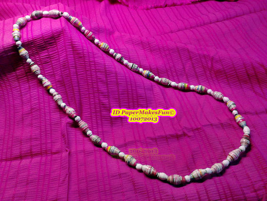 Paperbeads - Necklace