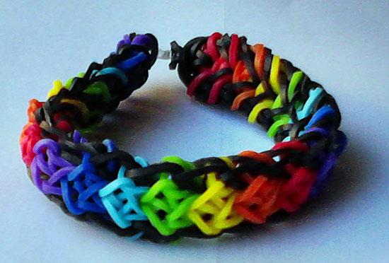 Rainbow Loom Totem Pole Armband