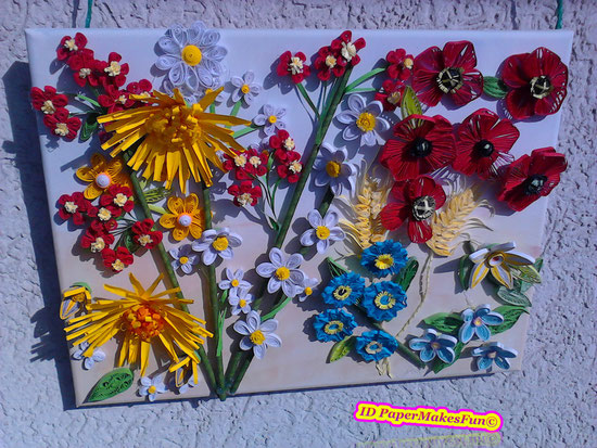 Paper - Quilling Herbst