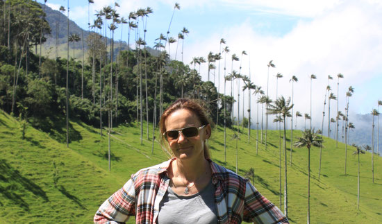 Reisespezialistin für Kolumbien - KOLUMBNIENline