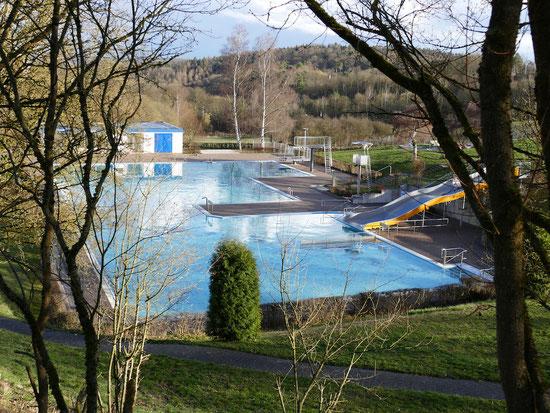 Schwimmbad in Herborn