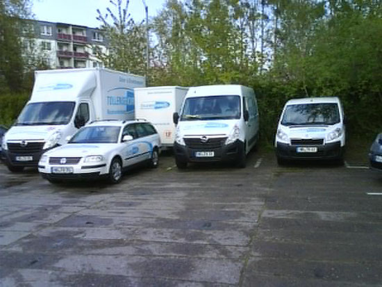 Fahrzeugflotte Tollense-Kurier Neubrandenburg