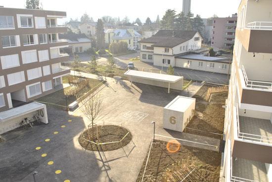 Projekt: Kaiserpark Buchs ¦ ©Allreal Generalunternehmung AG