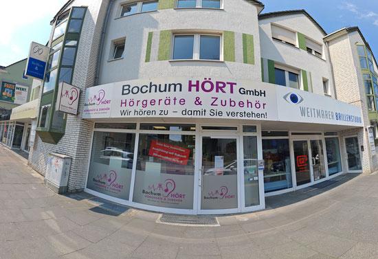 Bochum HÖRT GmbH, Hörgeräte und Zubehör,  Hattinger Str. 252A, Bochum