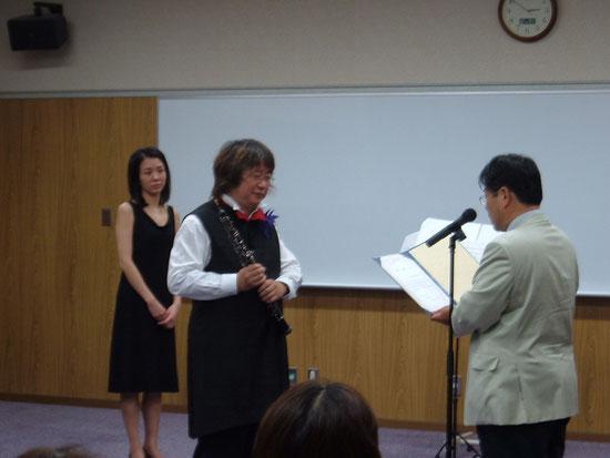 2005年9月 広島大学病院 医療と芸術のコンサート