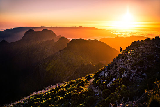 Auf dem Gipfel von Pico Ruivo