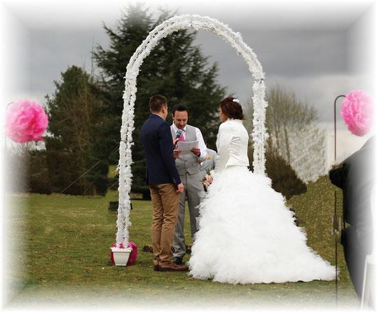 decoration mariage arche