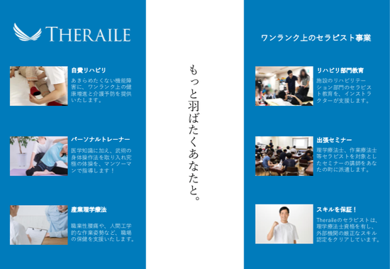 Theraileの事業一覧