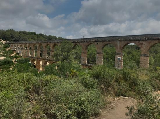 Ponte del Diabla. Beieindruckendes Aquädukt.
