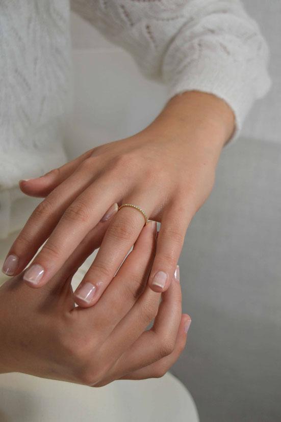 alliance eternity or 18 carats et diamants