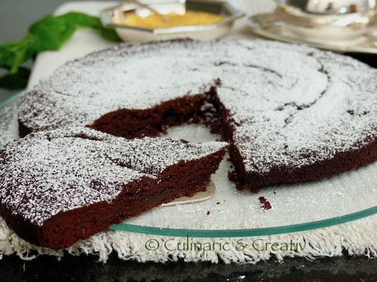 Schneller Schokoladenkuchen mit nur zwei Zutaten