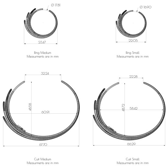 My Little Perfume ring measurements small size