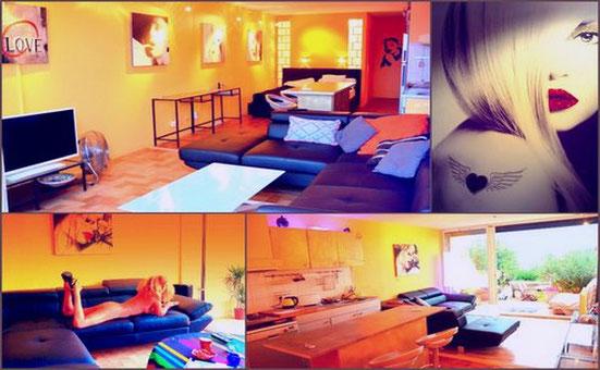 Appartement Terrasse - Location au Village Naturiste du Cap d'Agde