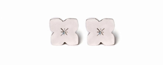 Emma Hedley Jewellery silver Enchantment Stud Earrings