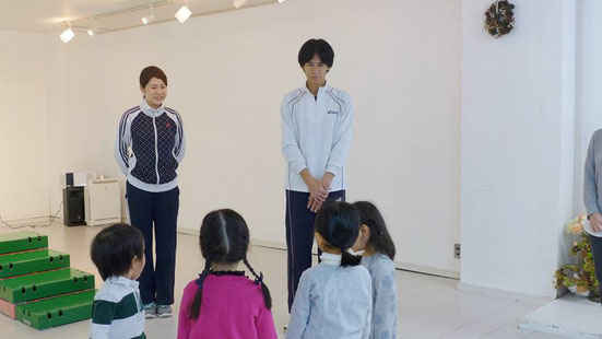 幼児教室体操教室・お話