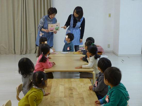 幼児教室ひな祭り・説明
