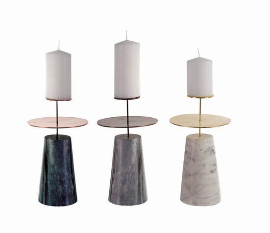 "Candle holders ""Cassiopée"""