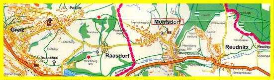 Wo liegt der Ortsteil Reudnitz?
