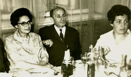 Б-11. 1970-е. Справа - жена Джана Инна Перецман