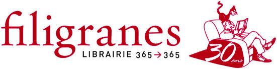 Cliquer sur le logo pour accèder au site de la librairie Filigranes
