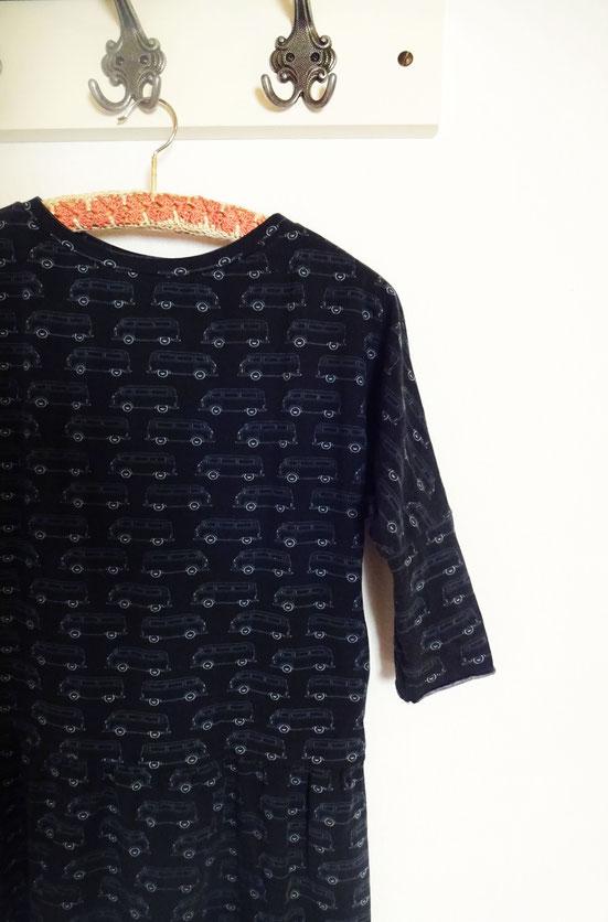nanoo dress vw vans fabric by atelier goldfaden
