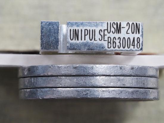 一円玉3枚重ねた厚みより薄い!ユニパルスのロードセル USM